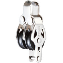 Makara - SB - Paslanmaz Çelik - 16mm - ikili - Bülbüllü